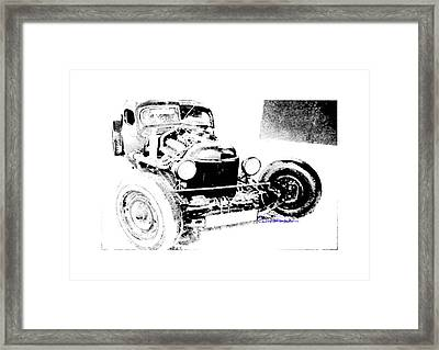 Russian Rat Rod Framed Print by MOTORVATE STUDIO Colin Tresadern