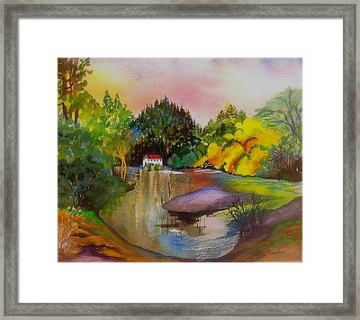 Russian River Dream Framed Print