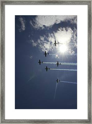 Framed Print featuring the photograph Russian Roolettes And Sydney Sun by Miroslava Jurcik