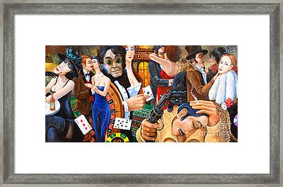 Russian Roulette Framed Print by Igor Postash