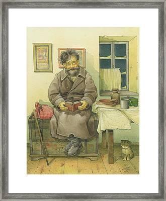 Russian Scene 03 Framed Print by Kestutis Kasparavicius