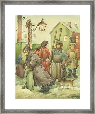 Russian Scene 06 Framed Print by Kestutis Kasparavicius