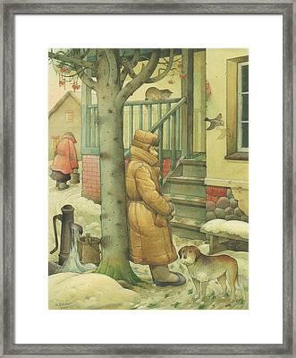 Russian Scene 10 Framed Print by Kestutis Kasparavicius
