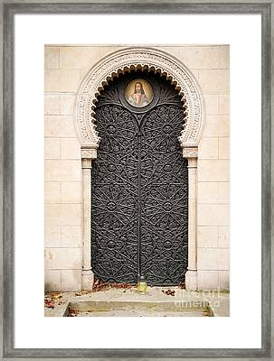 Russian Skwarcow Family Doors Framed Print by Arletta Cwalina