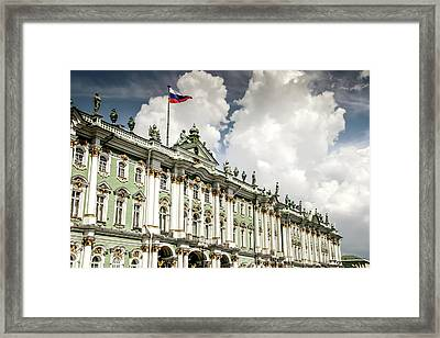 Russian Winter Palace Framed Print