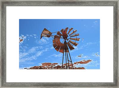 Rust Age Framed Print
