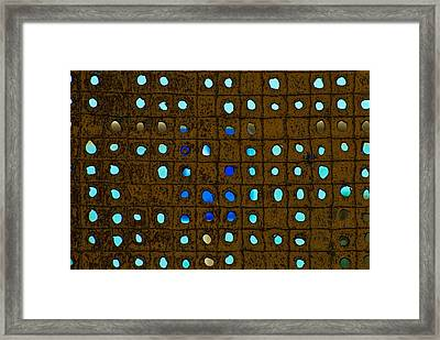 Rust And Light Framed Print by Craig Perry-Ollila