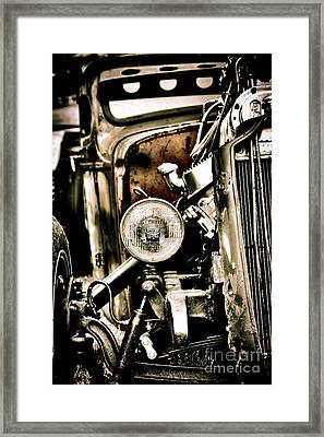 Rust And Power Framed Print by Tim Gainey