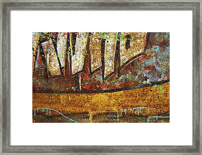 Rust Colors Framed Print