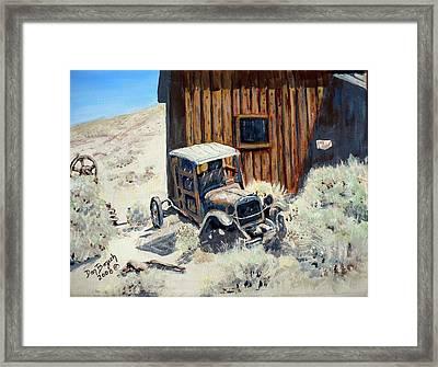Rust In Peace Framed Print by Dan Bozich