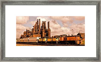 Rust In Peace Framed Print by DJ Florek
