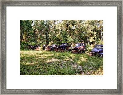 Rust In Peace Original Framed Print by Frank Feliciano