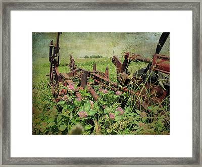 Rust In Peace Framed Print by Scott Kingery