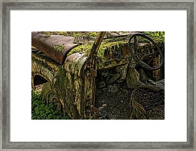 Rust In Piece Framed Print by Thomas Schoeller