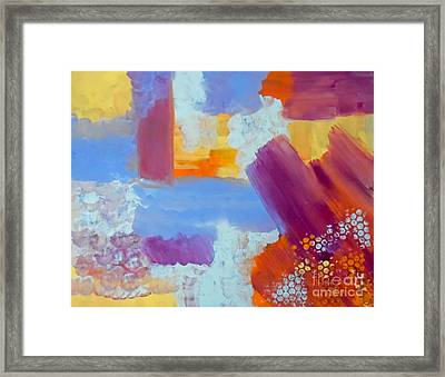 Rust Framed Print by Jilian Cramb - AMothersFineArt