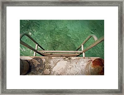Rust 'n Ladder Framed Print by Brian Davis