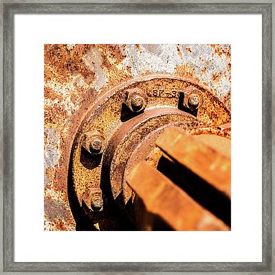 Rust Framed Print by Onyonet  Photo Studios