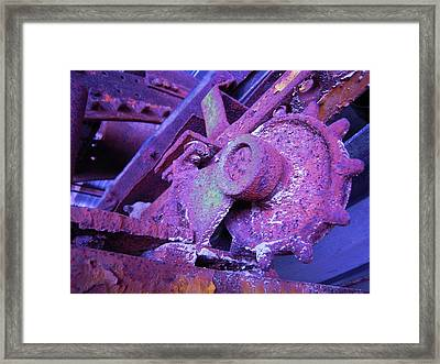 Framed Print featuring the photograph Rust Sleeping by Don Struke