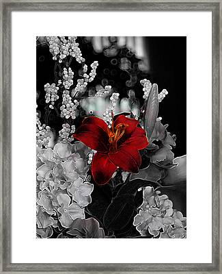 Framed Print featuring the photograph Rust by Stuart Turnbull