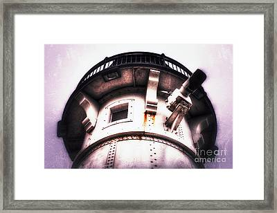 Framed Print featuring the photograph Rusted Beacon by Mark David Zahn Photography
