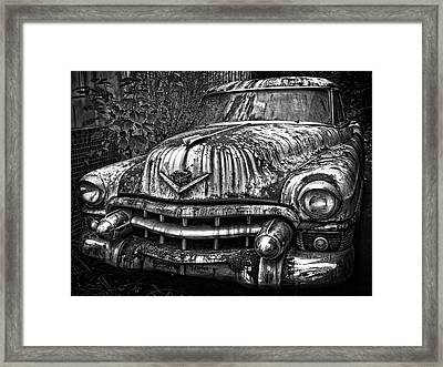 Rusted Chevy Framed Print by Daniel Hagerman