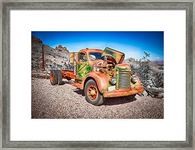 Rusted Classics - The International Framed Print