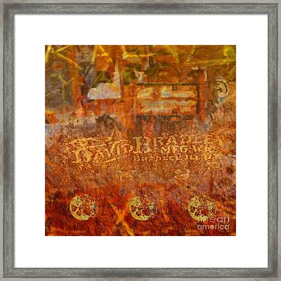Rusted Glory 313 Framed Print by Desiree Paquette