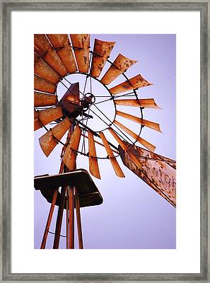 Rusted In The Past Framed Print by Jame Hayes