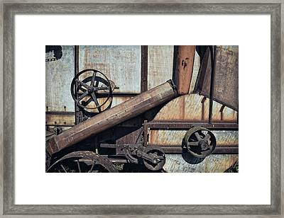 Rusted In Time Framed Print