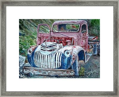 Rusted Memories 22x 30 Framed Print