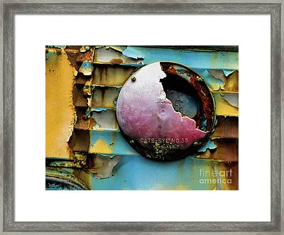 Rusted Series 3 Framed Print by Laura Atkinson