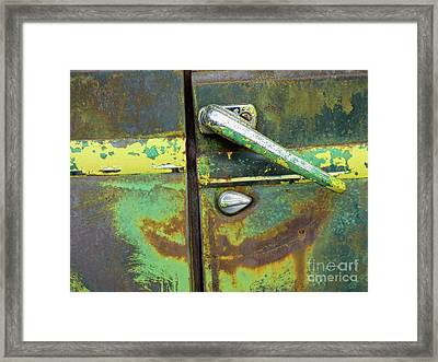Rusted Series 4 Framed Print by Laura Atkinson