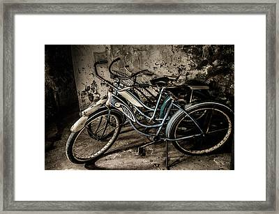 Rusted Vintage Framed Print by Rosette Doyle