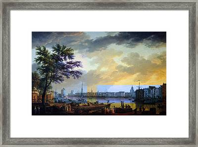 Rustic 10 Vernet Framed Print by David Bridburg