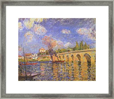 Rustic 13 Sisley Framed Print