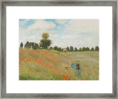 Rustic 18 Monet Framed Print by David Bridburg