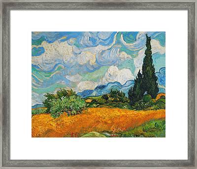 Rustic 20 Van Gogh Framed Print