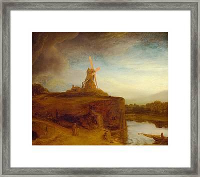 Rustic 9 Rembrandt Framed Print