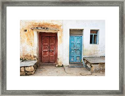 Rustic And Rural Framed Print by Tim Gainey
