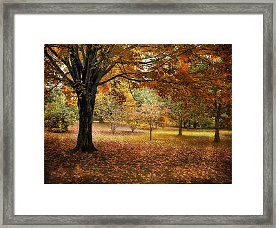 Rustic Autumn  Framed Print by Jessica Jenney