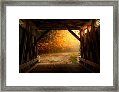 Rustic Beauty 2.0 Framed Print