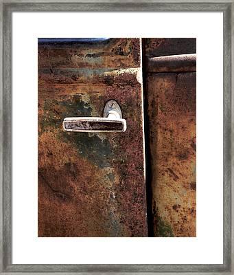 Rustic Framed Print by Bryan Steffy