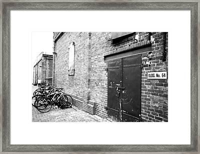 Rustic Building Framed Print by Mark Platt