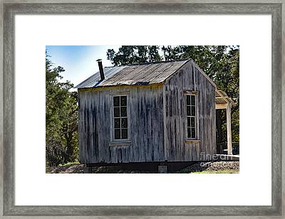 Rustic Cabin Framed Print by Ray Shrewsberry