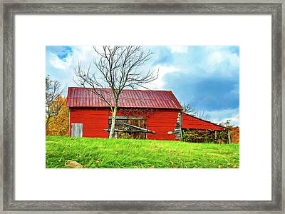 Rustic Charm 2 - Paint Framed Print by Steve Harrington