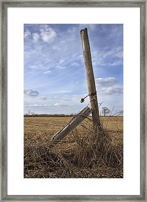 Rustic Charm Framed Print by Inspired Arts