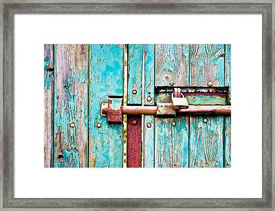 Rustic Colour  Framed Print by Tom Gowanlock