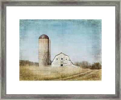 Rustic Dairy Barn Framed Print by Melissa Bittinger