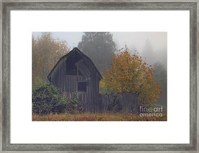 Rustic Fall Framed Print