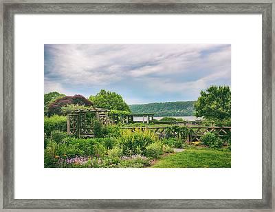 Rustic Garden Framed Print by Jessica Jenney